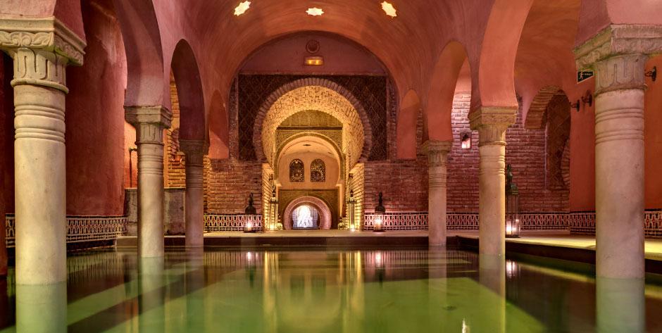 Baños Arabes Real Alhambra Granada:Al-Andalus Hammam Granada